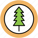 fir, generic tree, greenery, greenness, nature, pine, tree icon