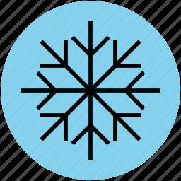 crystal flake, ice flake, snow, snowflake, winter, winter flake icon
