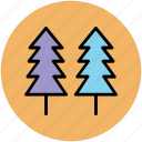 fir trees, generic trees, nature, pine trees, trees icon