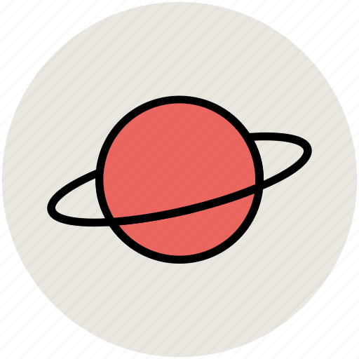 celestial body, nature, planet, planetary system, saturn, space, universe icon