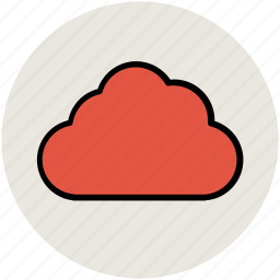 cloud, cloud storage, cloudy, puffy cloud, sky cloud icon