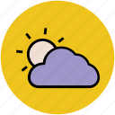 climate, cloud, forecast, sun, weather, weather outlook, weather prediction icon