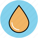 blood drop, drop, fall, raindrop, tear, water drop icon