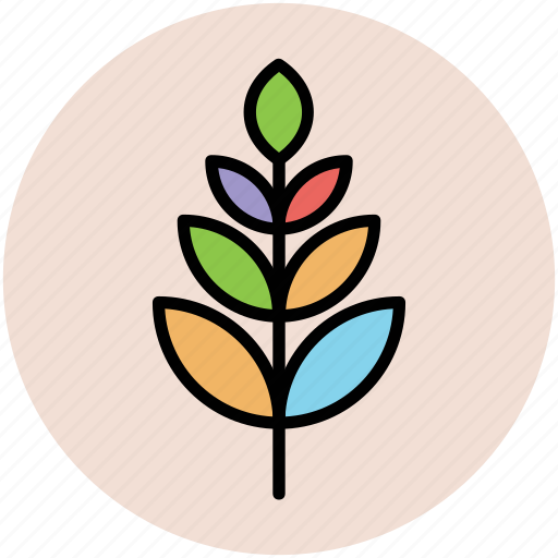 greenery, leaflet, leafy, nature, tree branch icon