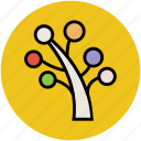 dotted leaf, generic, nature, plant, plant tree, small tree icon