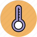 mercury thermometer, temperature, temperature checking, thermometer, wall thermometer icon