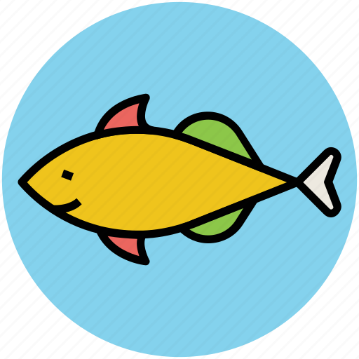 animal, fish, food, nature, pisces, seafood, zodiac sign icon