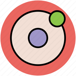 nature, orbit system, planets, solar system, space, universe icon
