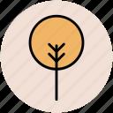 creative shape, ecology concept, generic tree, shrub form, tree form icon