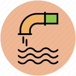nature, tap, water flowing, water pipe, water supply, water system icon