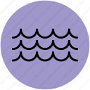 ocean, ocean waves, sea waves, water, water waves icon