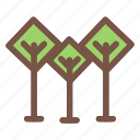 ecology, flower, forest, green, nature, park icon