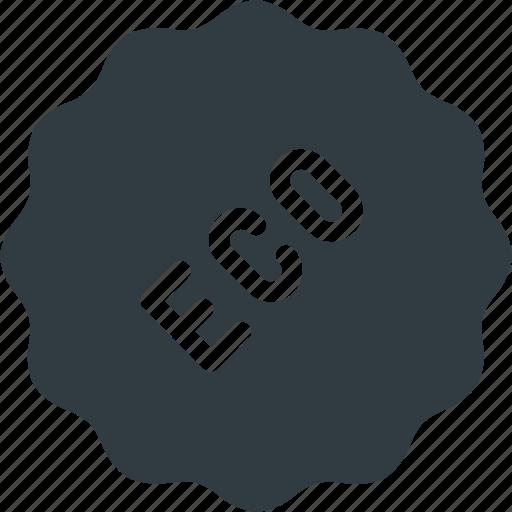 bio, eco, sticker, tag icon