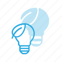bulb, eco, light icon