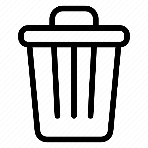 delete, dustbin, recycle, trash icon