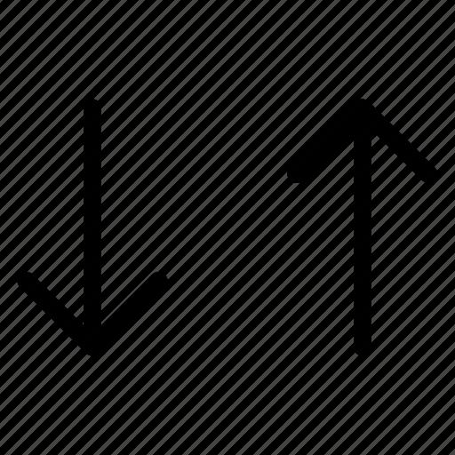 arrow, direction, path, pointer icon