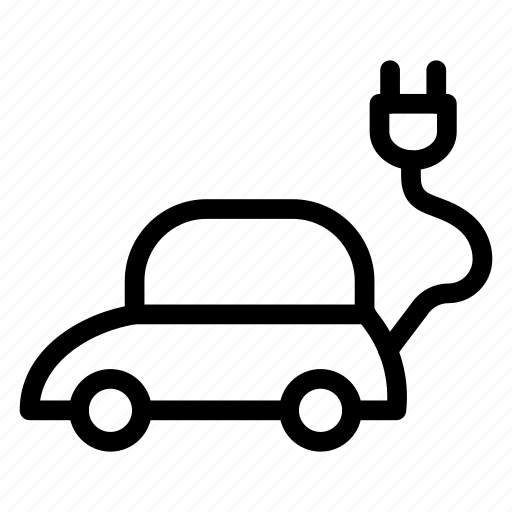 car, ecology, energy, power icon