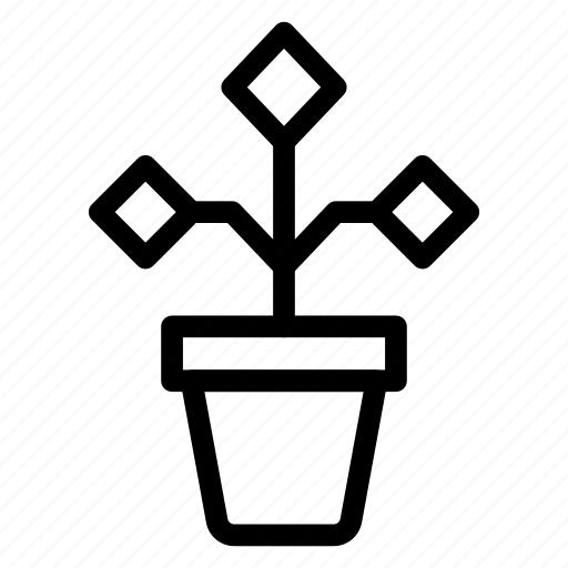 ecology, flower, growth, nature icon