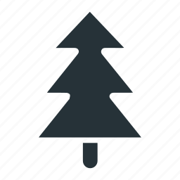 christmas, forest, green, plant, tree, winter icon
