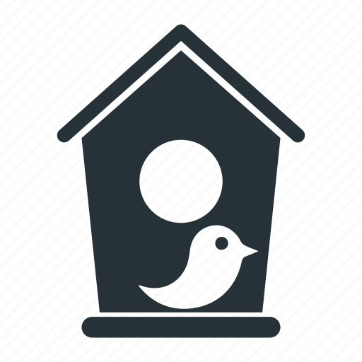 bird, garden, house, nature, wood icon
