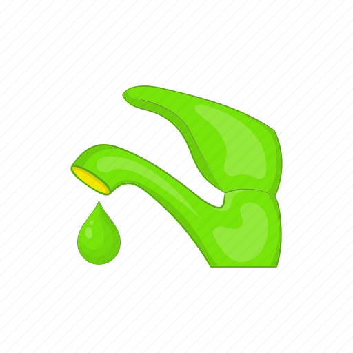 cartoon, eco, ecology, faucet, guardar, save, sign, water icon