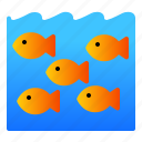 fish, landscape, nature, sea, underwater icon