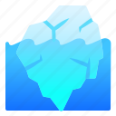 ice, iceberg, landscape, nature, sea