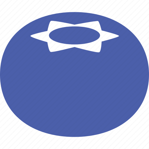 berry, blue, blueberries, blueberry, cyanococcus, fruit icon