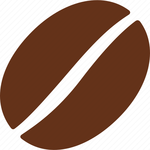 arabica, bean, caffeine, coffee, pit, roasted, seed icon