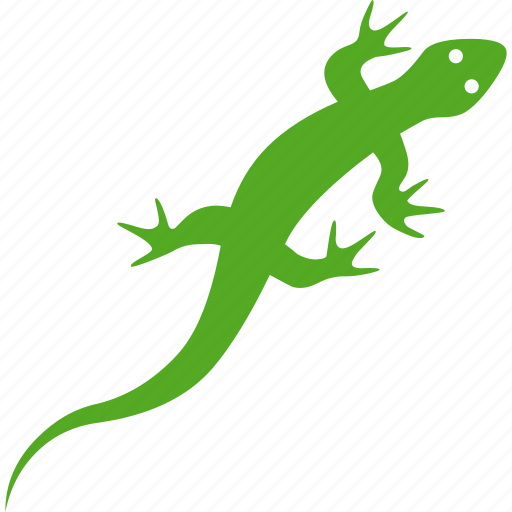 amphibian, chameleon, gecko, green, iguana, lizard, reptile icon