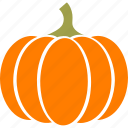 pie, halloween, thanksgiving, squash, orange, pumpkin, gourd icon