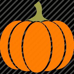 gourd, halloween, orange, pie, pumpkin, squash, thanksgiving icon