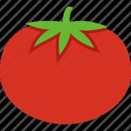 beefsteak, fruit, leaves, red, tomato, tomatoe, vegetable icon