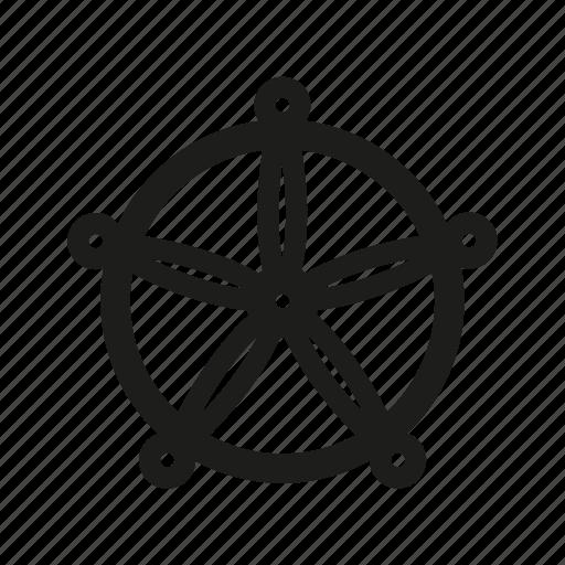 Boat, nautical, sea, ship, ship wheel, wheel icon - Download on Iconfinder