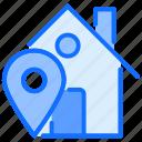 home, location, house, navigation, estate