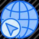 map, global, world global, arrow, earth