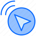 arrow, signal, navigation, pointer