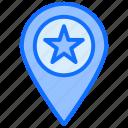 geo, star, favorite, location, pin, navigation