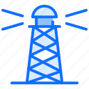 lighthouse, navigation, direction, tower