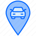 location, map, car, navigation, pin, taxi
