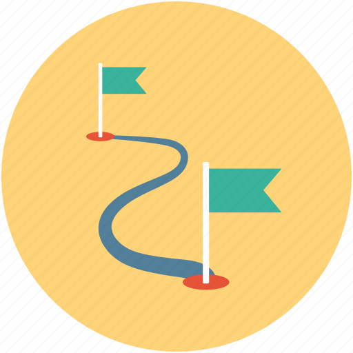 directions, rally point icon