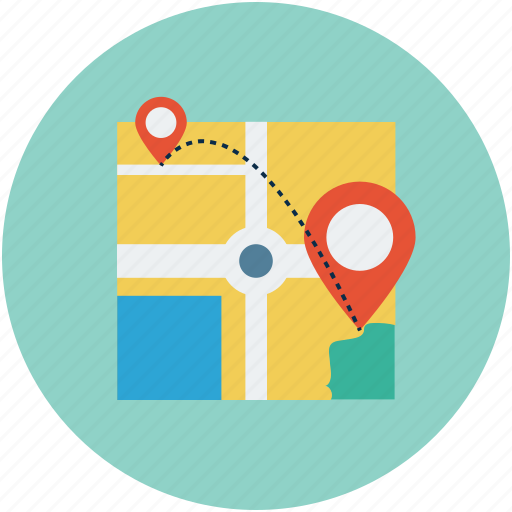 directions, gps, location, near me, point of interest icon