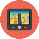 car gps, gps, location, map, travel icon