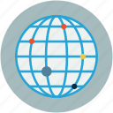 global points, globe, gps, world icon