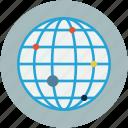 global points, globe, gps, world