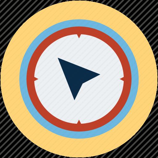 compass, location, north, travel icon