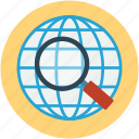 tracking, global, searching, zoom, location, gps icon