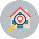 address, gps, home, home address, location icon