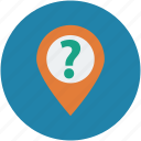 gps, location, tracking, unknown location icon