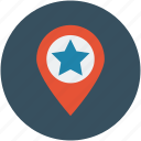 address, gps, landmark, location, point of interest icon